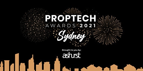 Proptech Awards 2021 Sydney hosted by Ashurst tickets