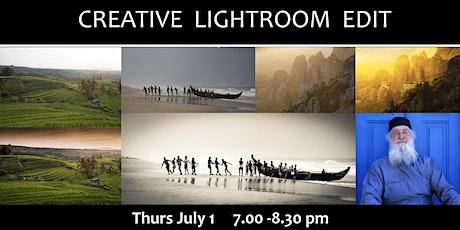 CREATIVE LIGHTROOM EDIT tickets