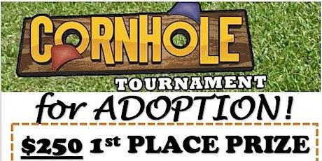 Cornhole Tournament for Adoption tickets
