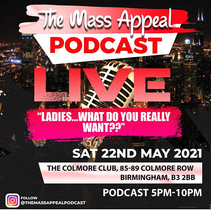 The Mass Appeal Podcast - LIVE image