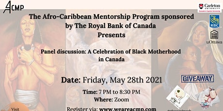 Panel discussion: A Celebration of Black Motherhood in Canada tickets