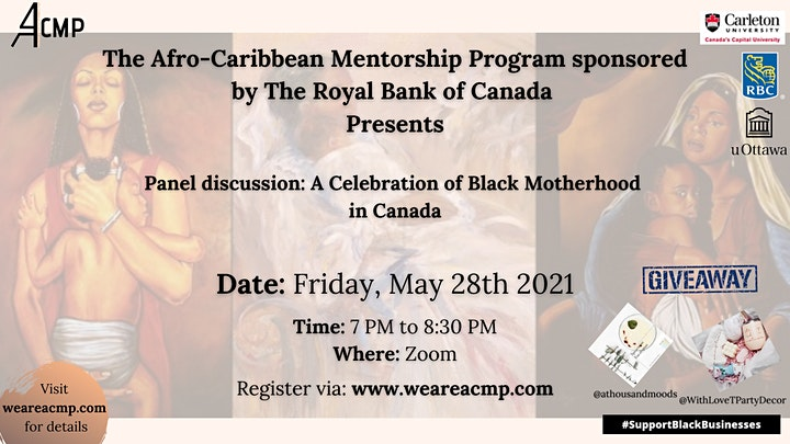 Panel discussion: A Celebration of Black Motherhood in Canada image
