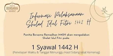 Shalat Idul Fitri 1442H tickets