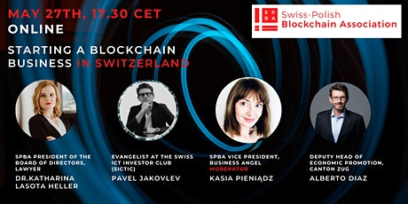 Starting a blockchain business in Switzerland tickets