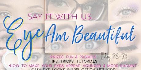 EYE Am Beautiful- May CPF Mega tickets