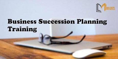 Business Succession Planning 1 Day Training in Toluca de Lerdo boletos