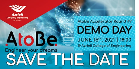 AtoBe Accelerator DEMO DAY Round 7# tickets