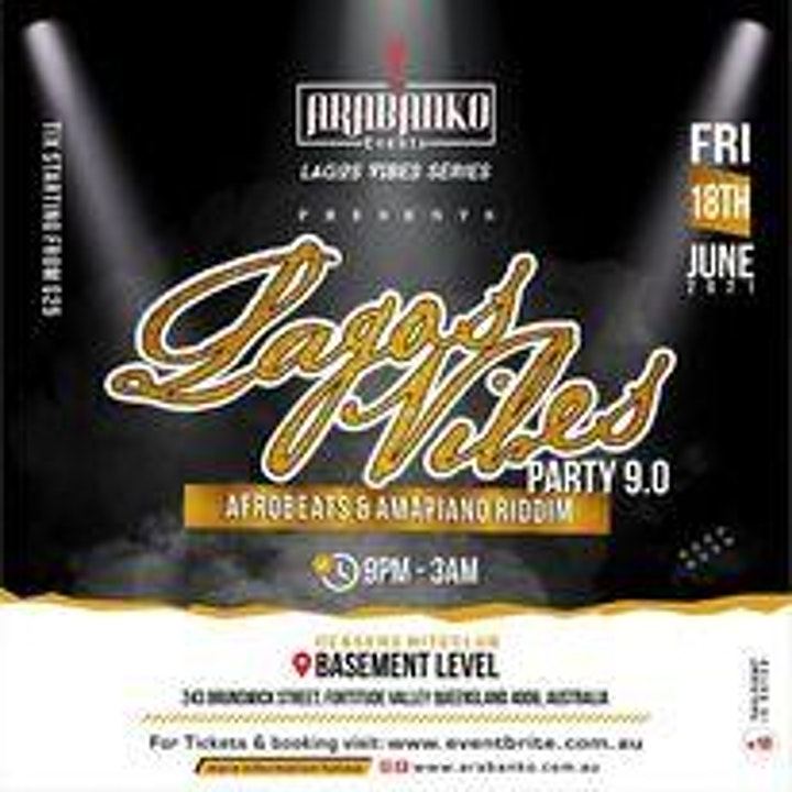 Lagos Vibes Party 9.0 ~~  Afrobeats & AmaPiano  Riddim image