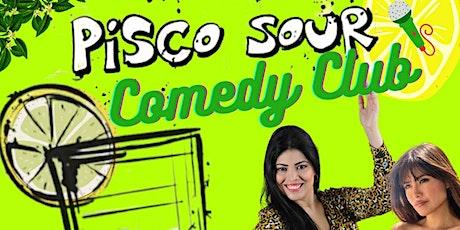 Pisco Sour Comedy Club entradas