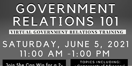 Government Relations 1010 tickets