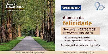 Webinar em português: A busca da Felicidade boletos
