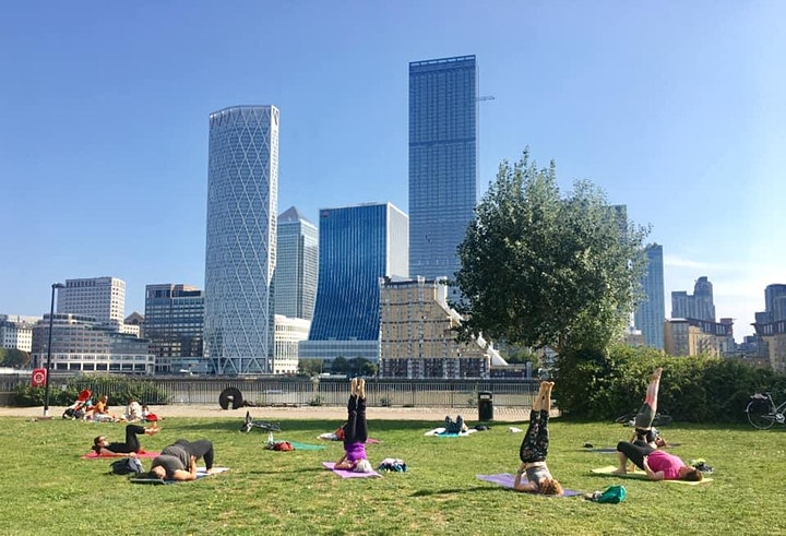 Summer Solstice YOGA & MEDITATION + Social Picnic! image