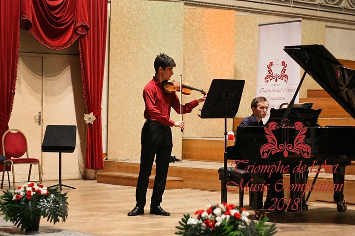 Image pour Instruments à cordes: Concert de clôture du VII. Concours Triomphe de l'Art
