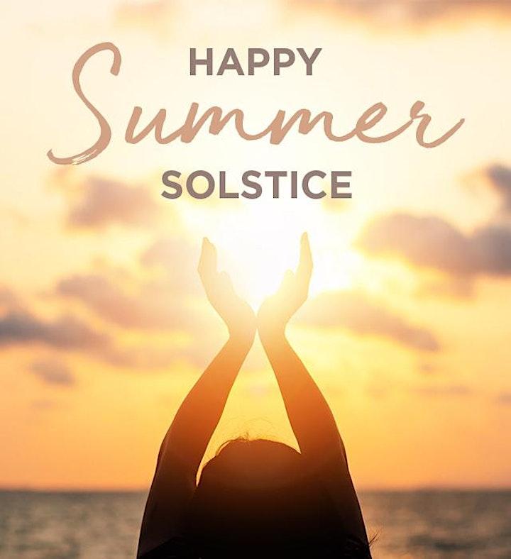 Summer Solstice YOGA & MEDITATION - ONLINE @ £10! image
