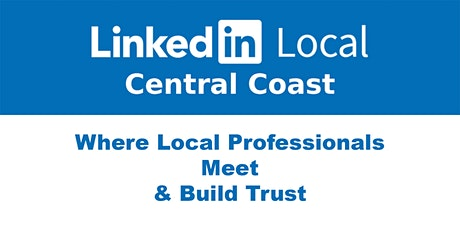 LinkedInLocal Central Coast - Monday 31st May 2021 tickets