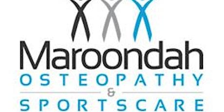 Maroondah Osteo Information Night tickets