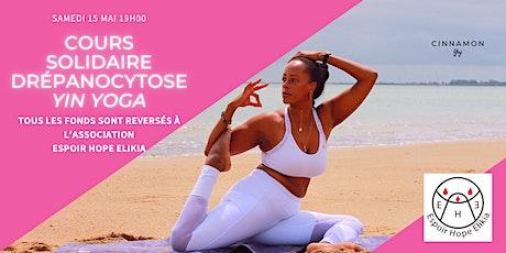 Drépanocytose : Cours de Yin Yoga Solidaire billets