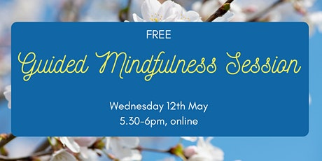 Guided Mindfulness Session for Mental Health Awareness Week tickets