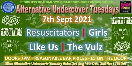 Alternative Undercover Tuesday  ( 7th Sept - Guildford) tickets