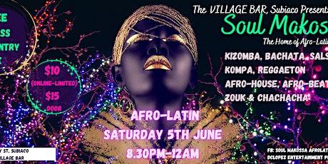 Soul Makossa at The Village Bar tickets