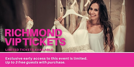 Richmond Pop Up Wedding Dress Sale VIP Early Access tickets
