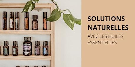 Prendre soin de soi au naturel avec les huiles essentielles billets