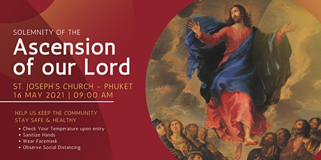 9 AM Sunday Mass - Solemnity of the Ascension of our Lord tickets
