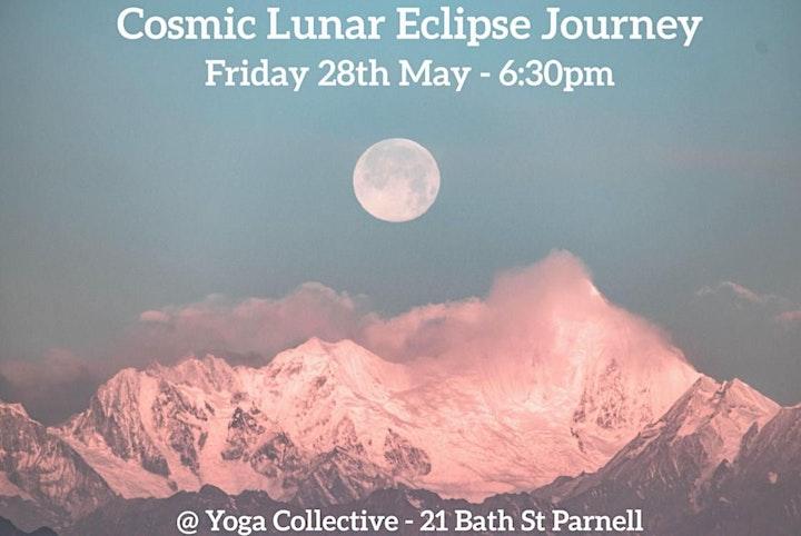 Cosmic Lunar Eclipse Journey image