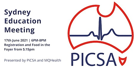 PiCSA Education Meeting- Macquarie University Hospital and Online Via ZOOM tickets