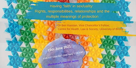 Having 'faith' in sex/uality: Rights, responsibilities, & relationships bilhetes