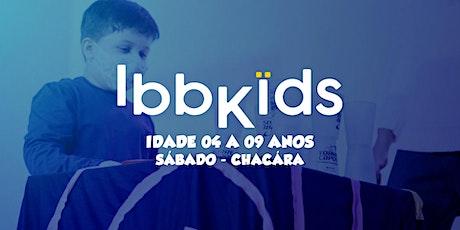 CULTO IBBKIDS - Sábado 18h00min  (4 - 9 anos) ingressos