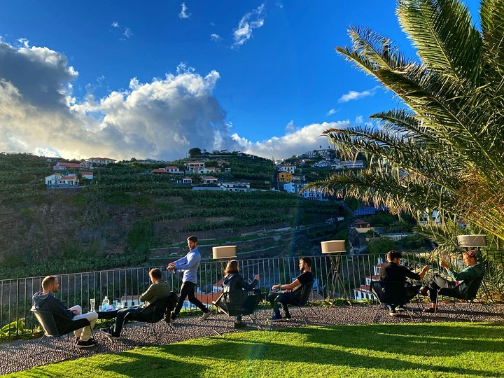 Speed Networking Sessions s1e3 at Nomad Village Madeira image