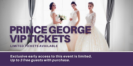 Prince George Pop Up Wedding Dress Sale VIP Early Access tickets