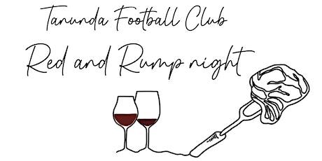 Tanunda Football Club Red and Rump Night tickets