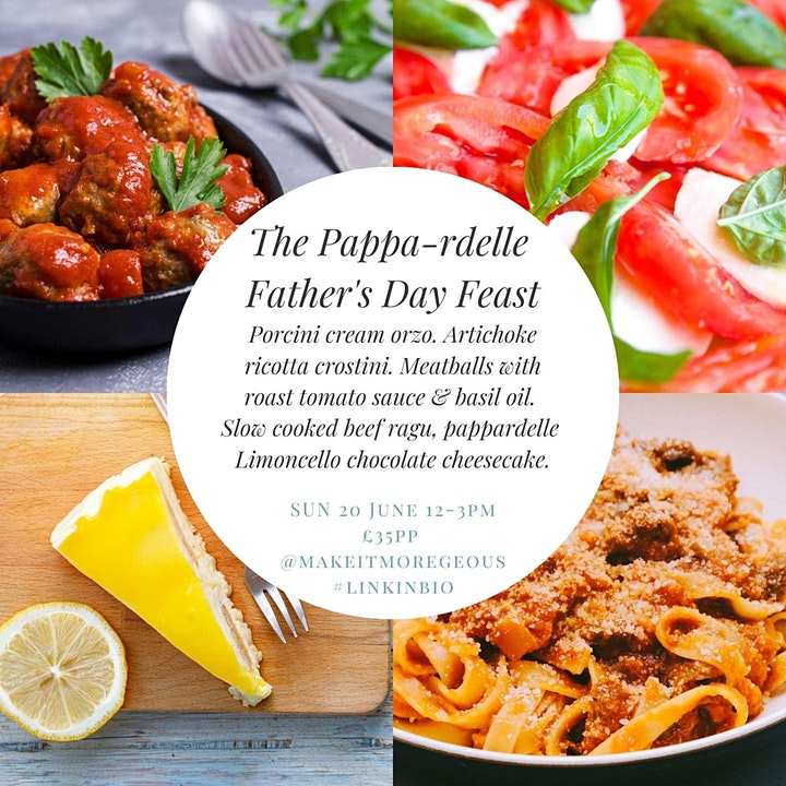 The Pappardelle Father's Day Italian Feast: Moregeous Dining Experience image