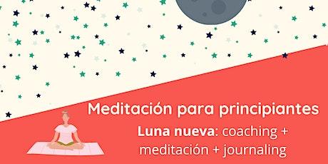 Meditación para principiantes: luna nueva entradas