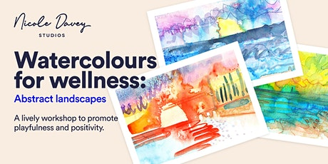 Watercolours for Wellness: Abstract Landscapes workshop tickets