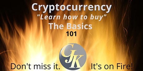 """Cryptocurrency """"Learn how to buy"""" The Basics 101 tickets"""