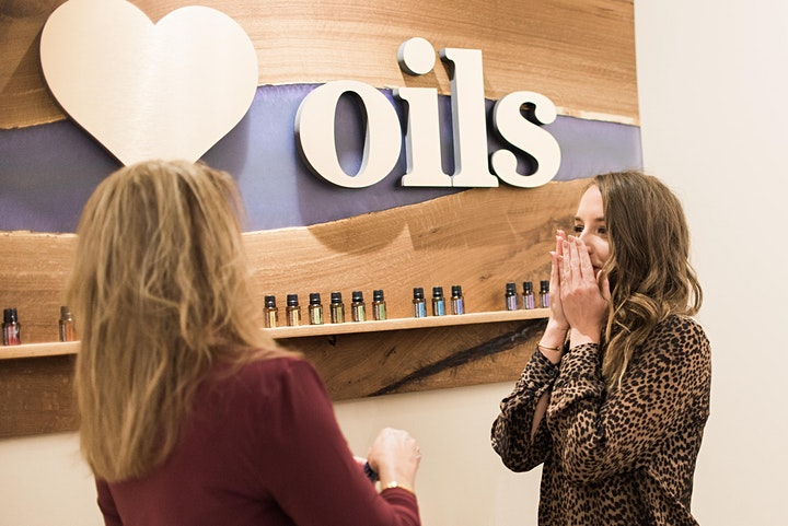 Essential Oil Sample and Overstock Event image