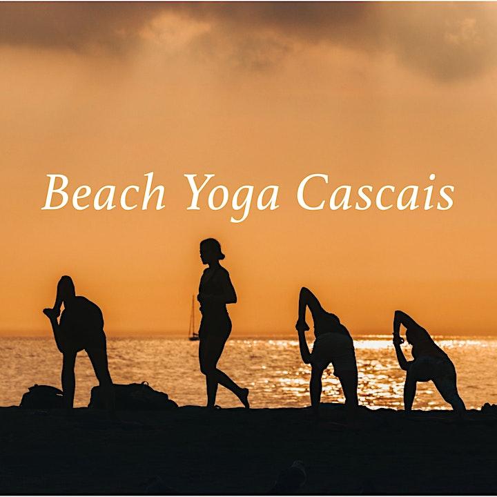 Beach Yoga Class in Cascais (Portugal) image