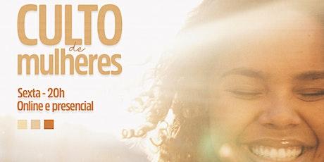 CULTO DE MULHERES TABOÃO DA SERRA ingressos