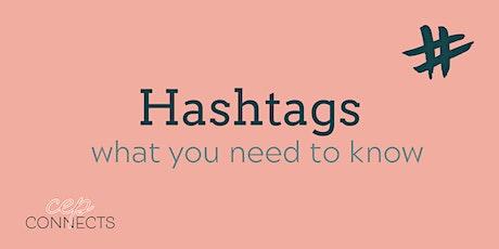 Hashtag workshop tickets