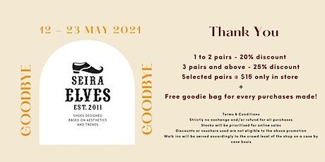 Seira Elves Thank You & Goodbye Event tickets