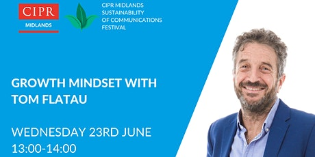 CIPR Midlands Festival - Developing your growth mindset tickets