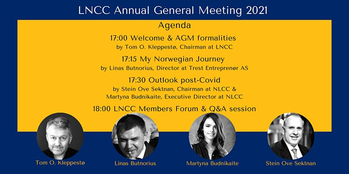 LNCC Annual General Meeting 2021 image