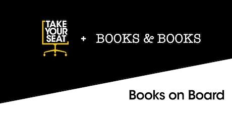Books on Board with Dambisa Moyo &  Jerusha Stewart tickets