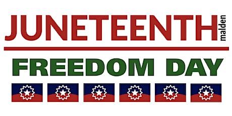 4th Annual Malden Juneteenth Freedom Celebration -Evening Program tickets