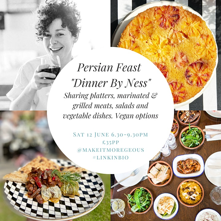 Dinner By Ness Persian Supper Club image