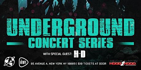 Underground Concert Series (Age Limit 21+) tickets