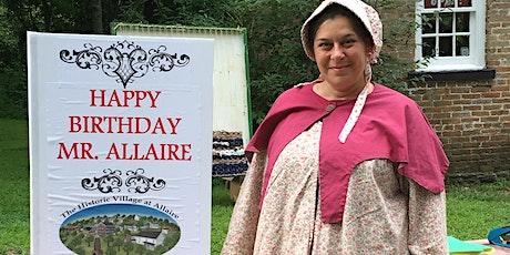 Mr. Allaire's Birthday & Guild Day tickets